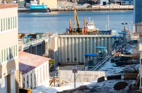 Ny tørrdokk i Harstad - Harstad Skipsindustri