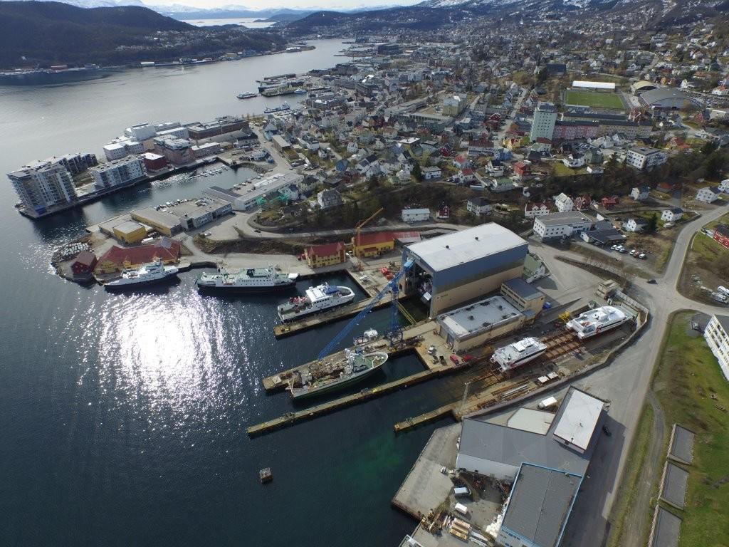 Harstad Skipsindustri - Samasjøen og Harstad hamn