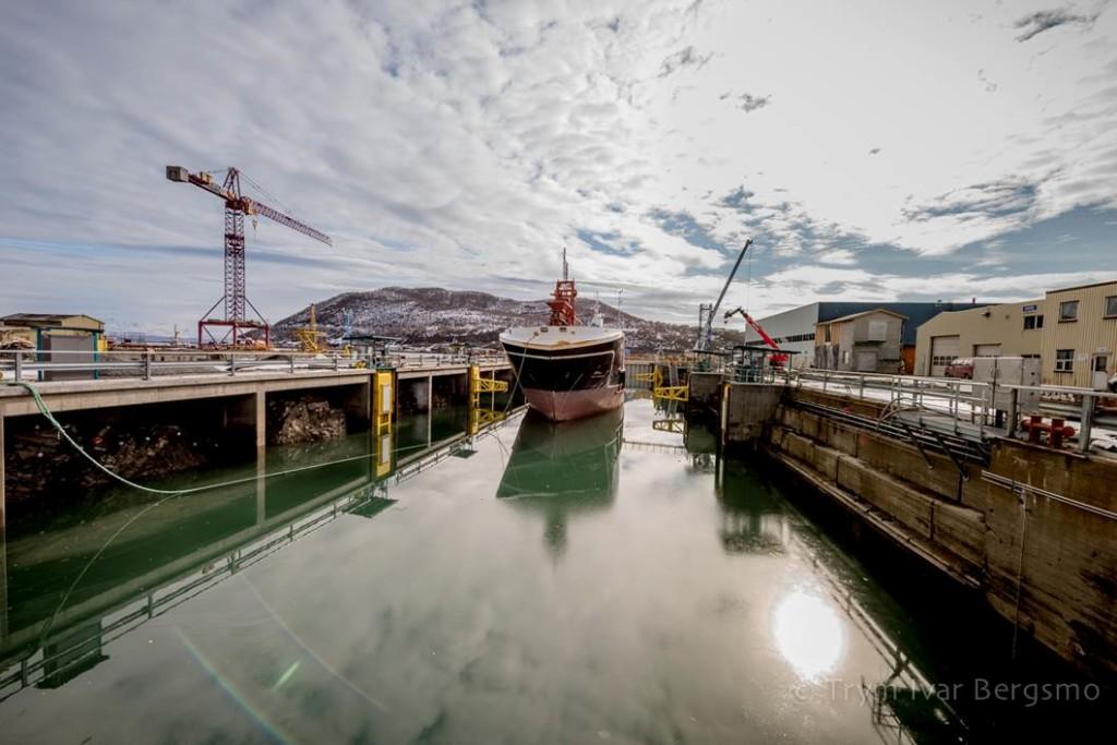 Harstad Skipsindustri - Landsdelens største dokk