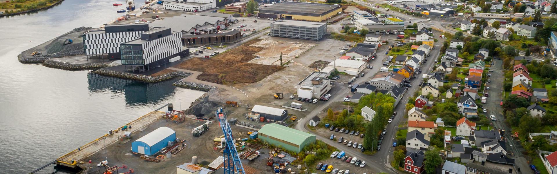Utviklingsområde i Harstad sentrum