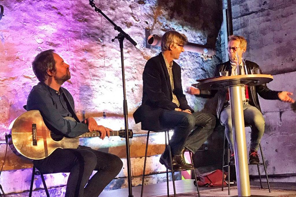 """Lansering av boka """"Verkstedpionerer"""" i støperiet 2018"""
