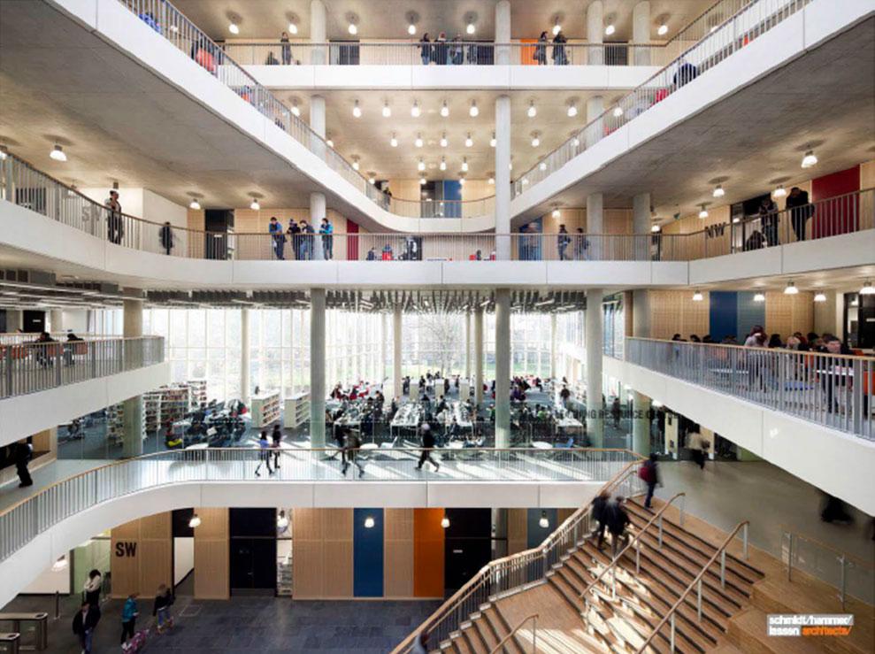 Harstad videregående skole: Visualisering